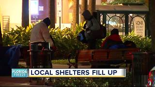 Cold causing Salvation Army to turn people away from shelters - Video