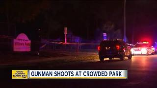 Three girls shot in city park near high school in Orlando - Video