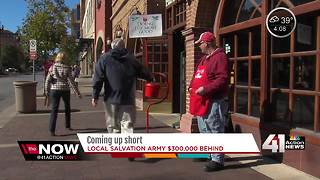 Salvation Army $300K behind on red kettle goal - Video