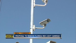 Florida lawmaker files bill to stop red light cameras across the state