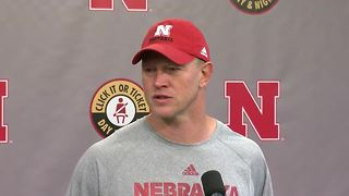 Scott Frost on how players handled rain delay