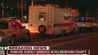 Homicide suspect arrested in Hillsborough County - Video