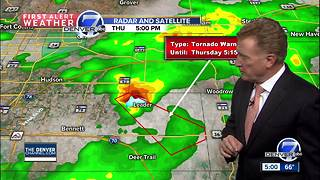 Hail, thunderstorms slam parts of Front Range - Video