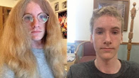 Hippie Donates Hair to Locks Of Love