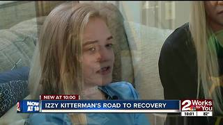 Izzy Kitterman's road to recovery - Video