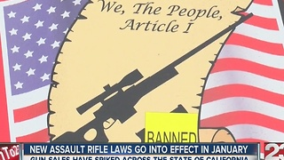 Assault rifle buying deadline - Video