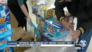 Veterans and their families in rural Colorado communities get needed holiday help - Video
