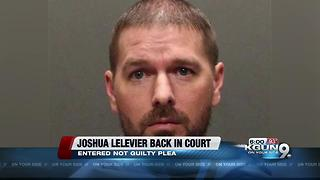 Lelevier back in court, facing several charges