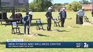 Groundbreaking ceremony held for Middle Branch Fitness and Wellness Center at Reedbird Park