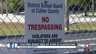 Collier Sheriff weighs weather teachers should carry - Video