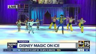 Experience Disney magic on ice in Phoenix - Video