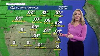 More rain showers on Sunday, highs in low 50s