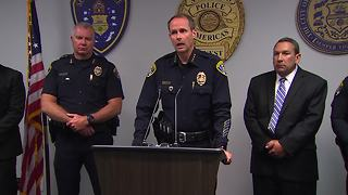 Police give update on officer-involved shooting