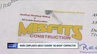 More complaints about a Dunkirk contractor