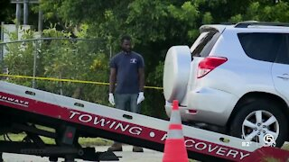 Car allegedly stolen as father picks up kids from pre-school in West Palm Beach