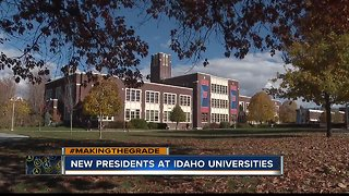 Two universities announcing new presidents