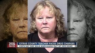 Elementary school teacher arrested for selling marijuana out of her home in Citrus County - Video