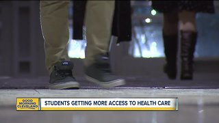 MetroHealth partners with local schools to provide health care in the classrooms