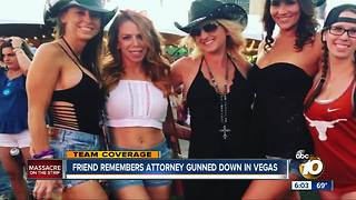 Friend remembers Attorney gunned down in Vegas - Video
