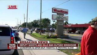 One dead after deputy-involved shooting in Largo - Video