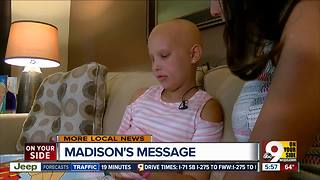 How a 10-year-old with cancer became the hero of her own story - Video