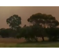 Firefighter Surrounded by 'Wall of Flames' in Rural South Australia - Video