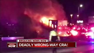 Wrong-way driver dead after crash with semi on I-43 in Milwaukee