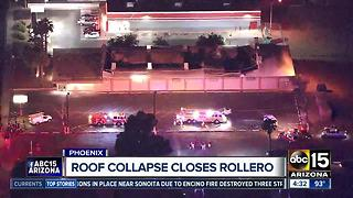 Roof partially collapsed at west Phoenix skating rink - Video