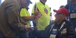 Local veterans travel to Washington DC with honor flight
