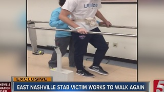 Family Celebrates Thanksgiving In Rehab After East Nashville Stabbing Attack - Video