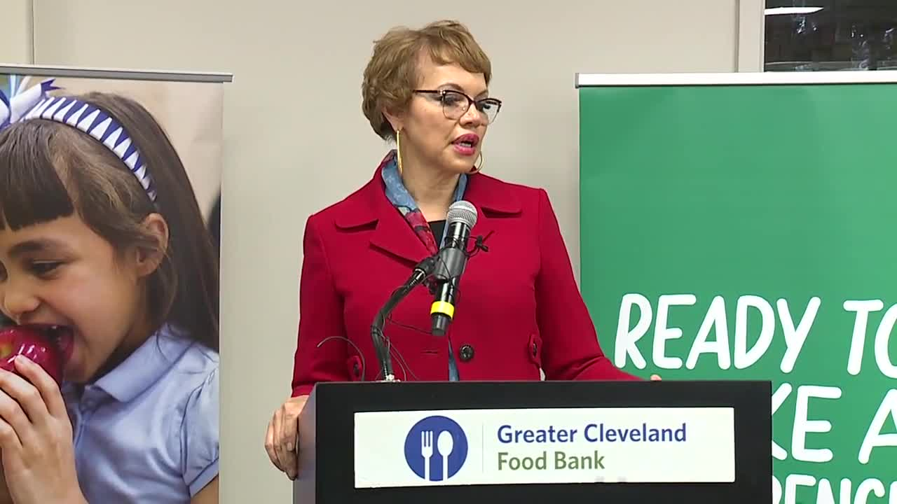 Cleveland selected for new pilot program to fight hunger