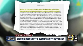 Digging deeper into Glendale officer's past