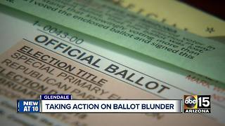 Valley woman sent election ballot…twice - Video
