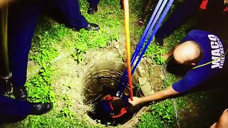 Texas Firefighters Rescue Dog Trapped in 30-Foot Well