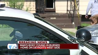 Body found on Detroit's west side in vacant home - Video