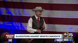 Explosive allegations against U.S. Senate Candidate - Video