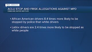 Stop-and-frisk allegations against Milwaukee police