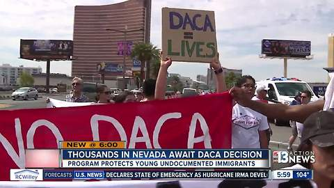 Thousands in Nevada waiting for DACA decision