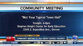 Community meeting to talk about school violence