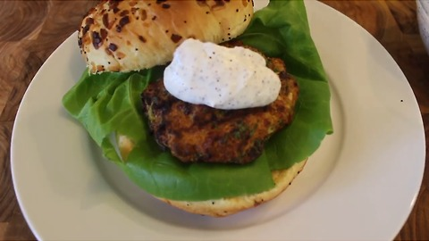 Mouthwatering turkey burger recipe