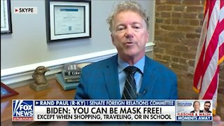 Rand Paul: 'Little Dictator' Fauci Acts Like an Ignoramus Over Masks