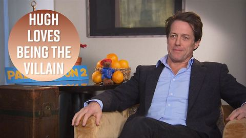 Hugh Grant jokes he was 'miserable' filming Paddington