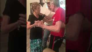 Man With Alzheimer's Works Up Strength to Give Wife Emotional Dance on 80th Birthday