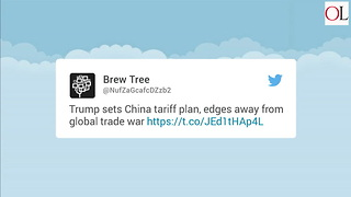 Trump Details China Tariff Plan - Video