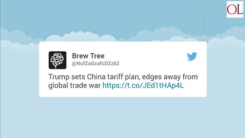 Trump Details China Tariff Plan
