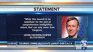 Colorado to join suit on rollback of immigrant protections - Video