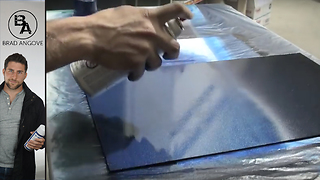 How to get an even coat of paint with spray cans