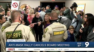 Parents rally for Vail School District to drop mask mandate at schools