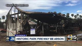 Glendale authorities investigating fires as 'suspicious' - Video