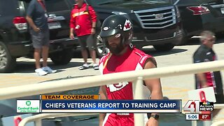 Chiefs veterans report to training camp